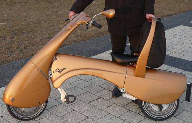Development of the new Moveo foldable electric moped
